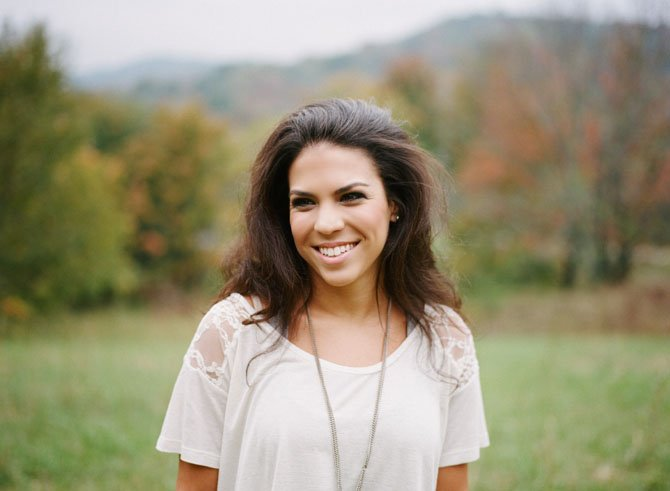 Stephanie Falcone, a native of Potomac and 2008 graduate of Holy Child, will be performing at a benefit concert for the school this Friday at Old Angler's Inn.