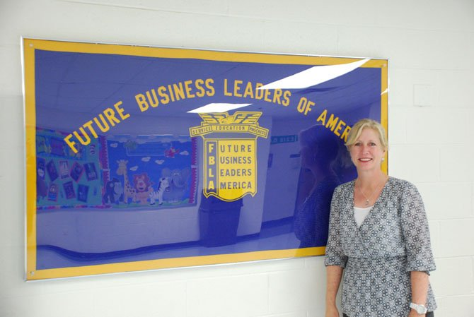 Robinson Middle School Teacher Cara Lambert founded the school's first Future Business Leaders of America for the middle school four years ago.