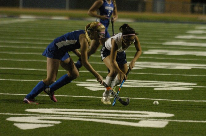 The Woodson field hockey team defeated West Potomac 3-0 on Sept. 24.