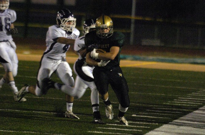 Langley running back Kyle West surpassed 200 rushing yards and scored two touchdowns against Chantilly on Friday night.