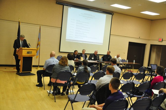 Supervisor John Foust (D-Dranesville) and the McLean Citizens Association hosted a discussion of the ramifications of the 2012 derecho.