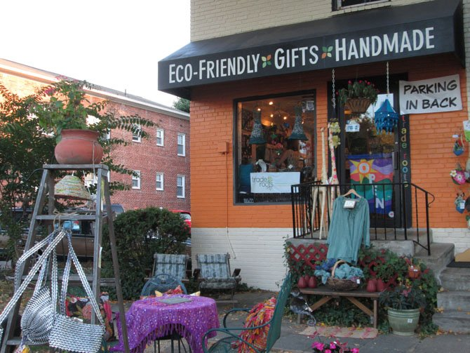 Trade Roots, a store in Arlington's Westover neighborhood that exclusively sells fair trade and handmade goods, is celebrating its first anniversary.