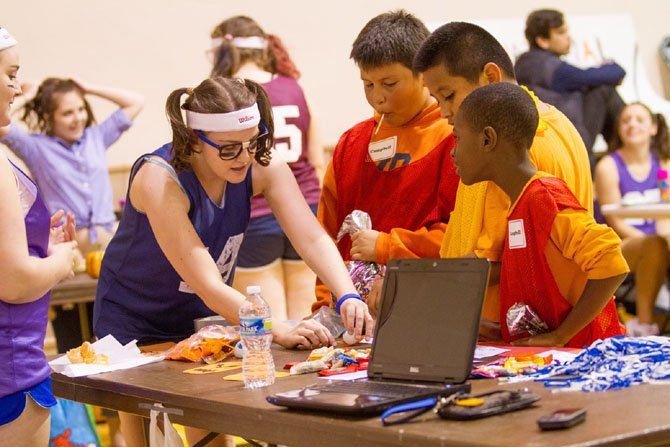 Marymount University, in Arlington, hosts an annual Halloweenfest for disadvantaged children. Students turn the Lee Center gym into a festival with face painting, crafts and games.