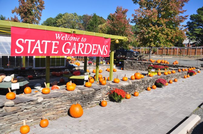 State Gardens has opened in Great Falls at the formerly empty garden center, and sells pumpkins and other fall plants, as well as local art, cider, firewood and more.