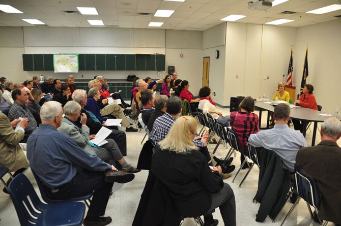 The McLean Citizens Association hosts a meeting about the proposed Residential Studios Zoning Ordinance Amendment Wednesday, Oct. 30 at McLean High School.