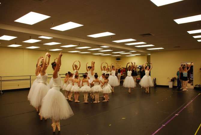 The Burke Civic Ballet cast of 200 features student dancers ages 3-18, as well as amateur adult performers.
