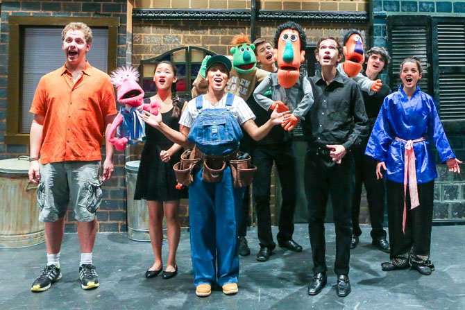 From left: Peter Serle, Lizzy Rader, Kaila Anderson, Emma Norville, Ben Roberts, David Jarzen, Eddie Perez and Nikki Amico.