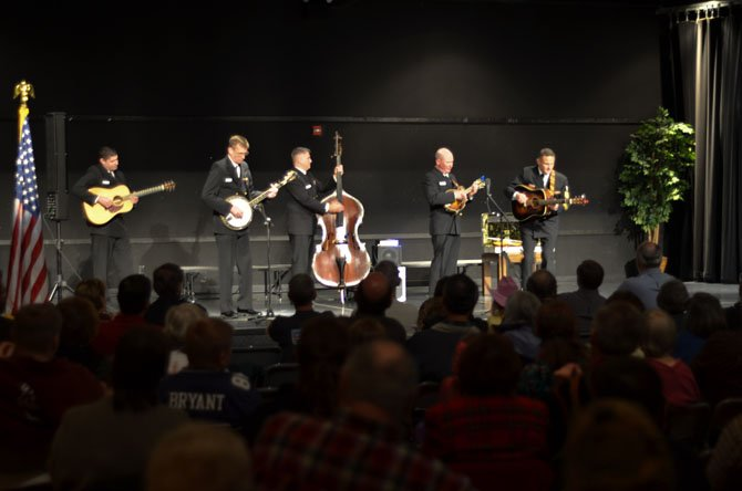 Country Current is the US Navy's premiere country-bluegrass ensemble. They entertained an audience at Herndon United Methodist Congregation on Nov. 9.
