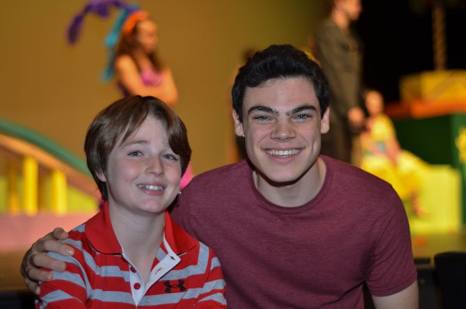 Henry Metcalf will be playing the role of Jojo, the Mayor's son. High School junior Drew Lytle (right) will be performing the role as Cat in the Hat.