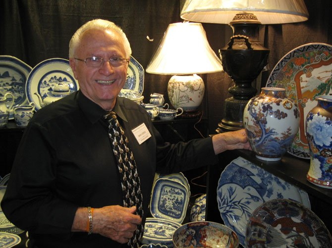 Don Ourecky of Mahjongg Antiques of Springfield.