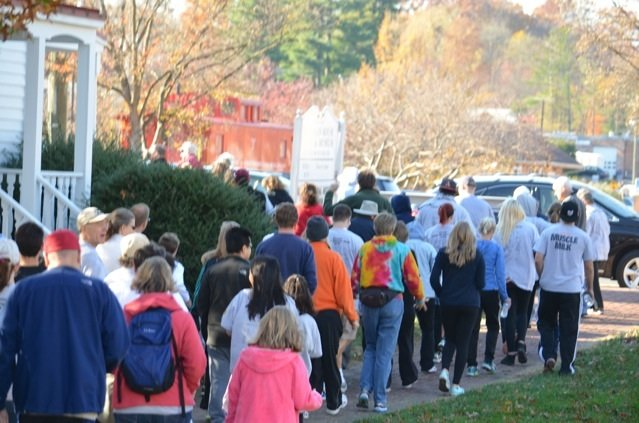 Vienna residents participated in the 9th annual CROP Hunger Walk on Nov. 10.