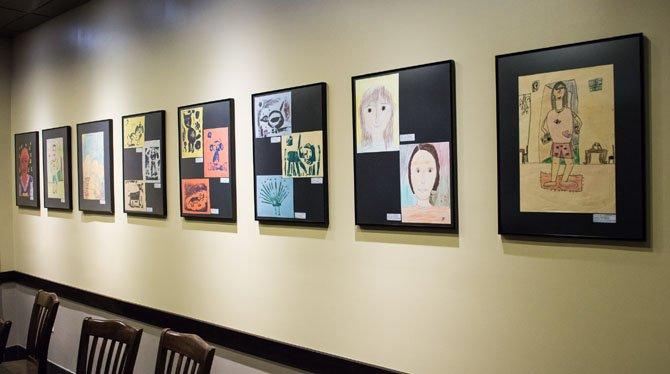 Great Falls Elementary Students Exhibit at Starbucks