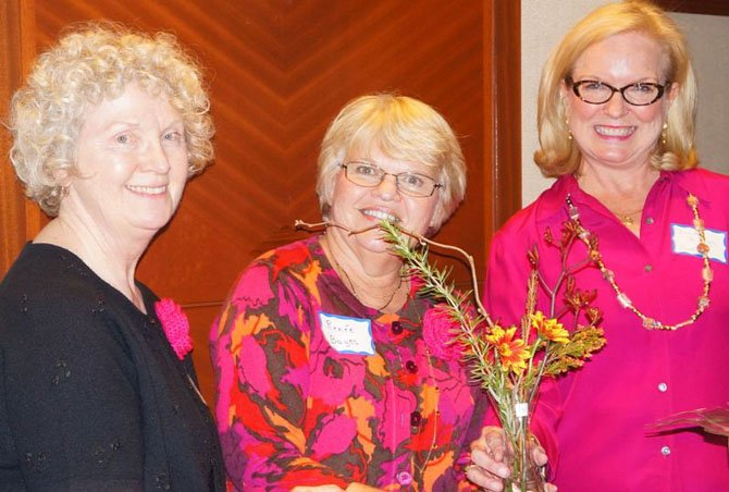 Rock Spring Garden Club members (from left) Janice Haines, Renee Bayes and Dorinda Burroughs, who founded the fundraiser several years ago.