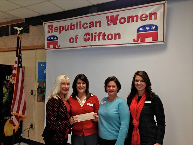 The Republican Women of Clifton (RWC) donated $500 to TAPS (Tragedy Assistance Program for Survivors).