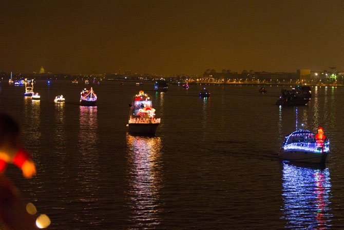 The Holiday Boat Parade of Lights will take place Dec. 7 at 5 p.m. at the Alexandria City Marina.