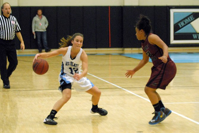 Centreville senior point guard Jenna Green scored 16 points and dished nine assists against Mount Vernon on Tuesday night.