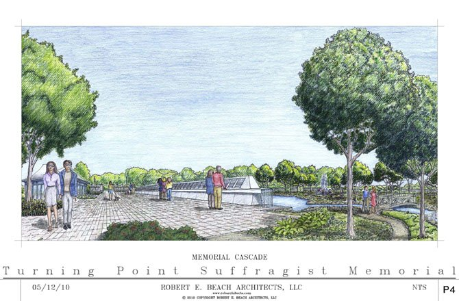 The Turning Point Suffragist Memorial will honor women imprisoned at the Occoquan Workhouse in 1917.