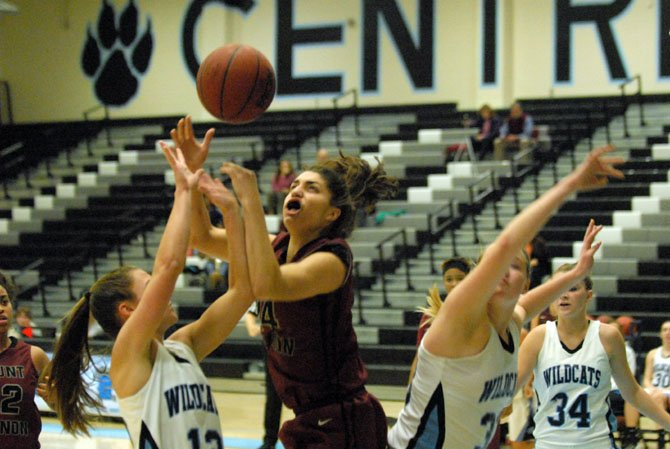 "Mount Vernon girls' basketball coach Courtney Coffer said senior forward Samantha Porter has been ""playing out of her mind."""