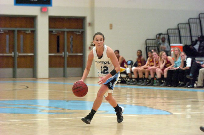 Centreville point guard Jenna Green scored a game-high 20 points against Oakton on Jan. 17.