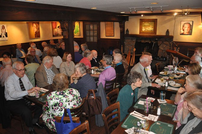 Guests dine at The Old Brogue, a community fixture in Great Falls since 1981. The town of Great Falls' Irish pub has an endless list of live music acts performing on Friday and Saturday nights starting at 9 p.m.