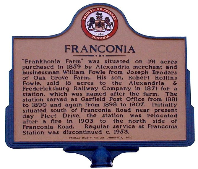 Visitors to the Franconia Museum can learn about the area's history.