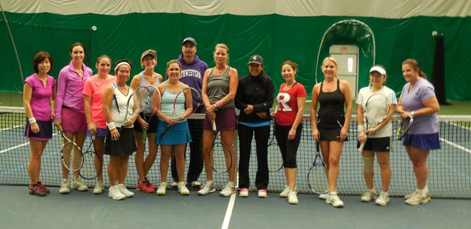 Live Ball clinic participants with Steve Miguel.