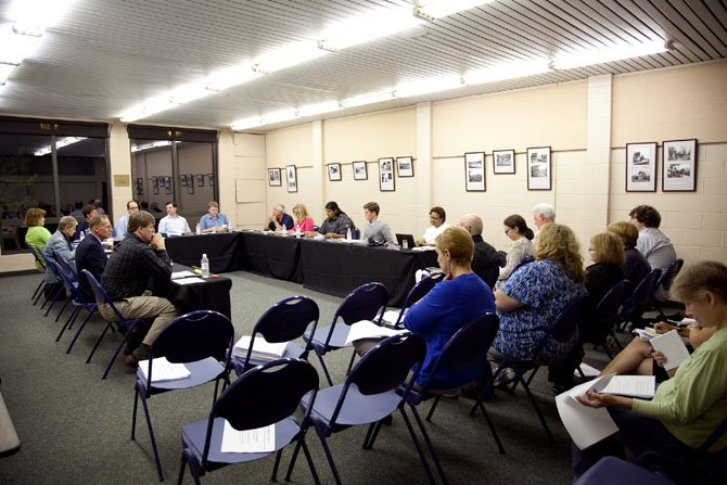 The McLean Community Center's Governing Board in session.