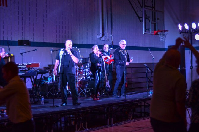 The Fabulous Hubcaps band preformed Saturday evening at the Herndon Community Center for the Herndon Rotary Club's Valentine's Sock Hop.