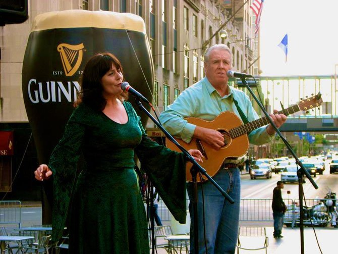 Mae Hernon will be appearing at the Auld Shebeen Restaurant & Pub in the City of Fairfax on Feb. 22 from noon to 4 p.m.