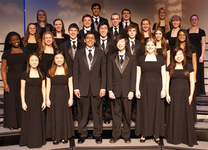 Students in Centreville High's Symphonic Choir will perform March 13.