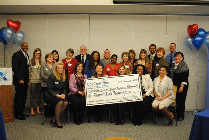 Cox Communications awarded $51,000 in grant funds to eight nonprofit organizations in Northern Virginia on Feb. 21 through Cox Charities grants programs.