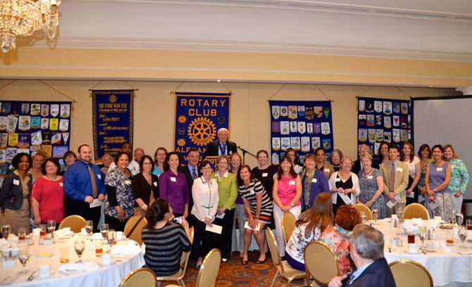 Local nonprofits were awarded more than $30,000 in grants in 2013 by the Alexandria Rotary Club Foundation. Applications for this year's grants are being accepted through March 31.
