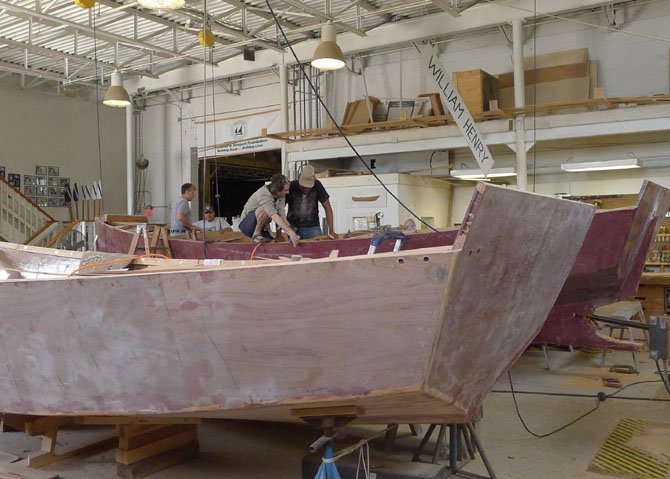 The future of the Alexandria Seaport Foundation's nationally-acclaimed boatbuilding apprenticeship program for at-risk youth is in question due to the city's plans for development along the waterfront.