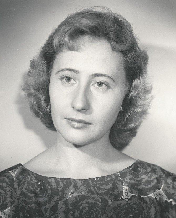 Magdolna Iranyi-Gondor in 1960