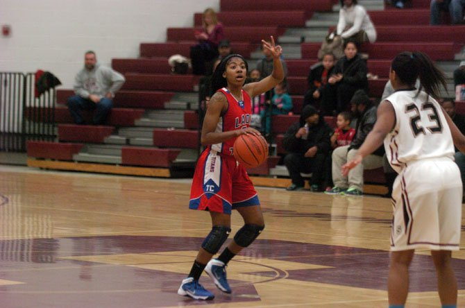 T.C. Williams senior Tykera Carter will compete in the Suburban Classic all-star game on March 23 at Oakton High School.