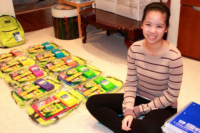 Katharine Jiang created the CLIPUS Foundation to help underprivileged children receive school supplies.