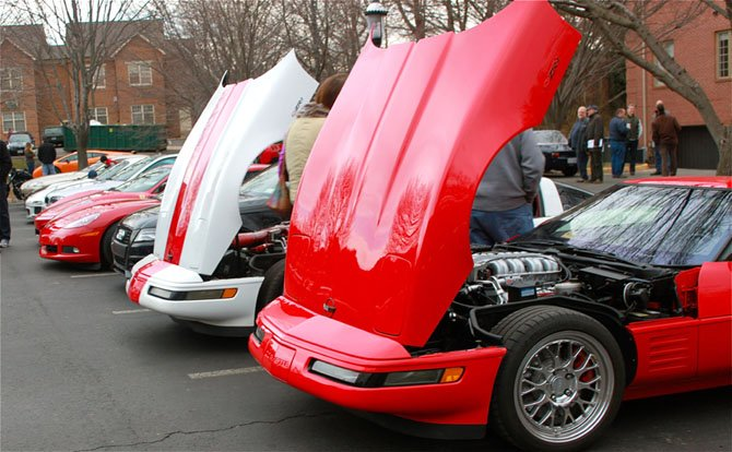 Nearly 250 cars were at the Katie's Cars and Coffee event this Saturday.