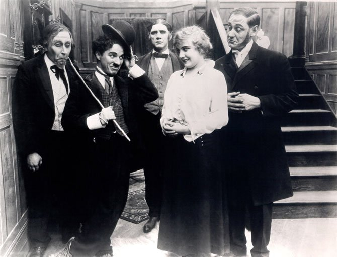The Alden in McLean will celebrate Charlie Chaplin's 125th birthday with an evening of silent films with live musical accompaniment on Wednesday April 16, at 7:30 p.m.