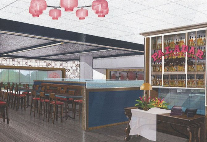Entry and bar rendering.