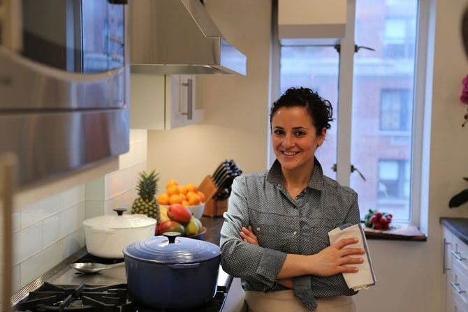 Chef Dara Yaffe Lyubinsky, the founder of Tastes Like More Personal Chef Service, enjoys creating spring dishes like Creamy Asparagus and Leek Soup. She also uses spring fruit to create fresh desserts.