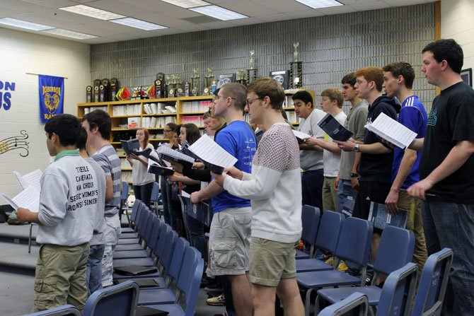 The Robinson Singers and Select Women's Ensemble are the only choirs from Virginia headed to the World Choir Games in Latvia this July.
