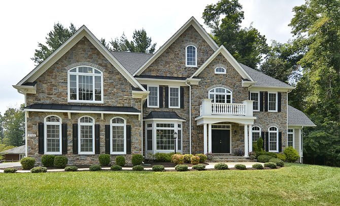 Realtors say this Oakton home exemplifies ideal curb appeal, a critical factor when selling a home.