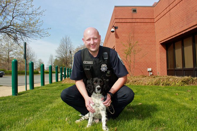Officer Lee Trawick was chosen to be Jude's handler.