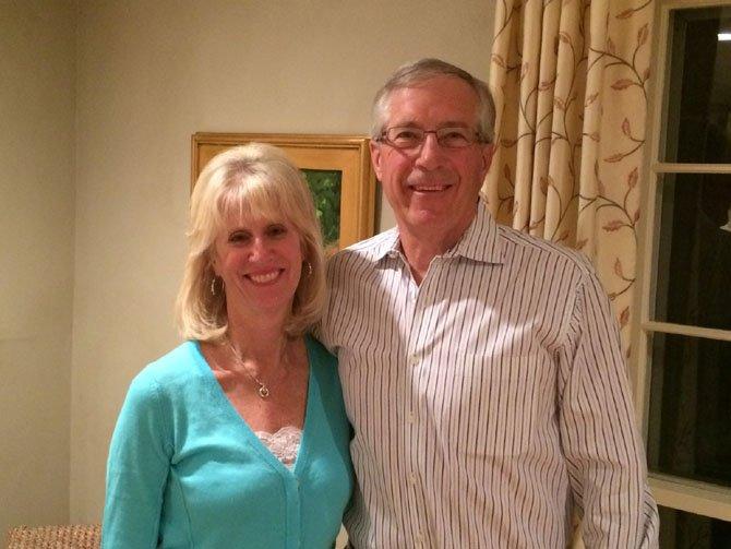 Pam and Bill Hard both volunteer at Hospice Caring.