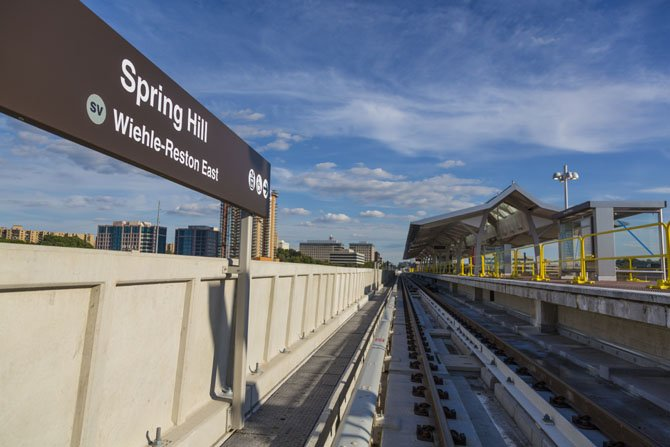 Spring Hill Station: The Metropolitan Washington Airports Authority has announced the substantial completion of the Phase 1 of the Silver Line Project.
