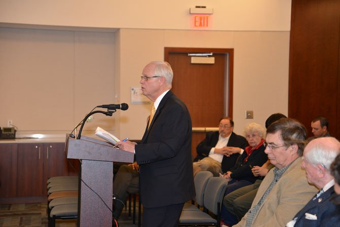 David Snyder, in his role as Vice-Chairman of the Northern Virginia Transportation Commission, addressed the Commonwealth Transportation Board. To read Snyder's testimony go to www.thinkoutsidethecar.org. Snyder presented the organization's case for increased transit funding in Northern Virginia.