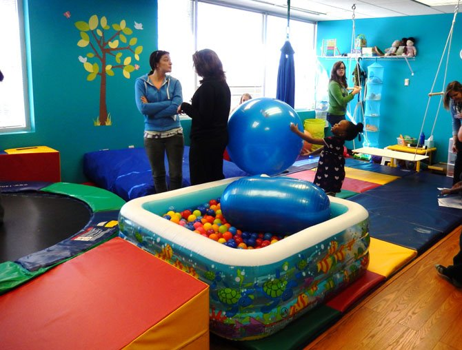 One of the playrooms in the Chantilly therapy center.