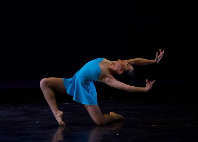 "Claire de la Paz performs Maelstrom, choreographed by CBT faculty member Meghan Rudorfer. Maelstrom earned Claire recognition as a ""Top 12"" in the 2014 YAGP (Philadelphia), Precompetitive Contemporary Division. She also placed in the ""Top 12"" with her classical variation."