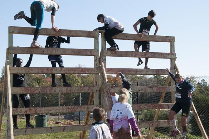 The Ice Cream Race will include climbing walls and steeple chases.