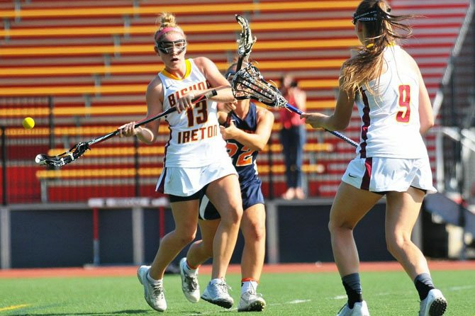 Kaitlin Luzik is a defensive standout for the Bishop Ireton girls' lacrosse team.